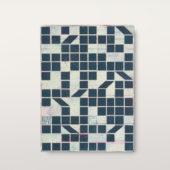 Alain Biltereyst, Untitled (17), acrylic on wood panel, 9.25 x 6.5
