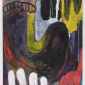 Cerberus, 2018, Oil and acrylic on canvas, 48x36 inch_ 122x91 cm