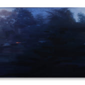 Untitled, 2020, oil on canvas, 48 x 72 inches