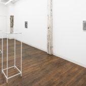 Installation view, A Pale, A Post, A Boundary. February 6 - March 27, 2021