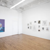 Installation view, Kevin Wolff, Never Not Looking, April 2021