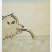 Ryota Nojima, Energy of earth, 2012, oil on canvas, 20.8 x 17.9 inch