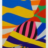 Shunsuke Imai, untitled, 2018, acrylic on canvas, 19.6 x 15.7 inches