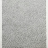 Soshi Matsunobe, Appear on Disappear Drawing - Disappear on Appear Drawing, 2018, pencil on embossed paper, 39.3 x 28.6 inches