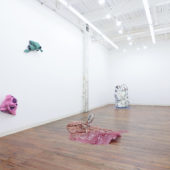 Installation view, Linger, 2020